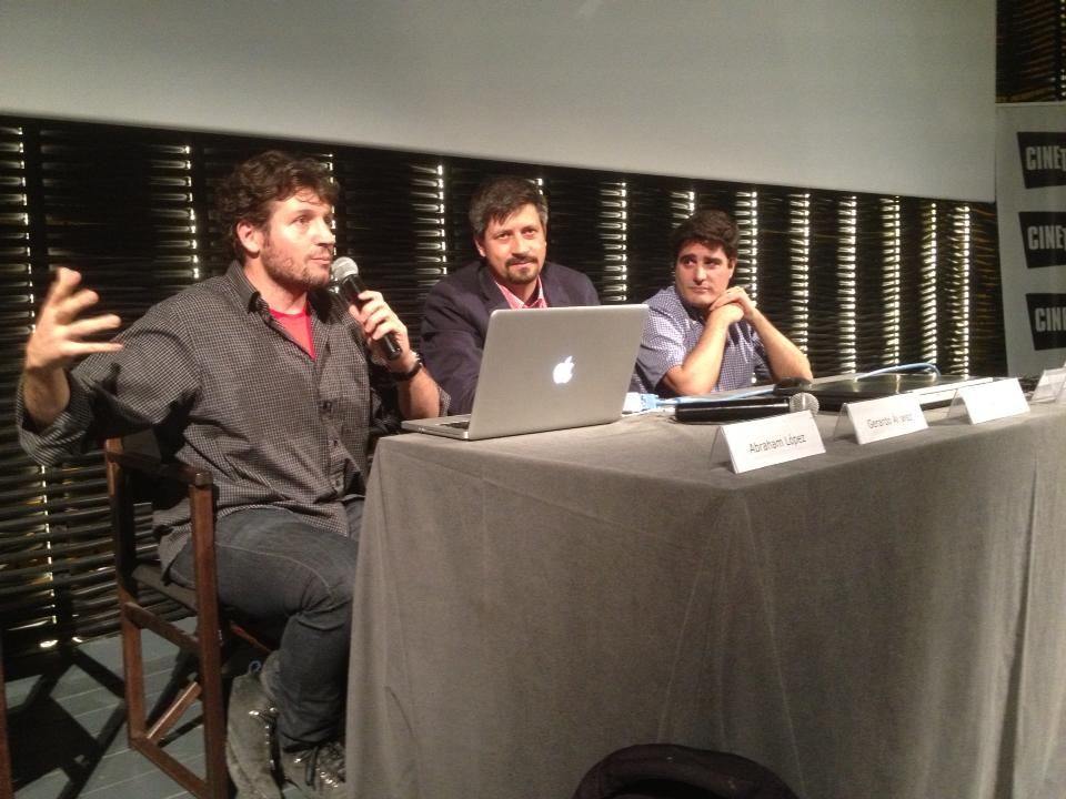 Abraham L.Guerrero, Gerardo Alvarez y Jorge Medina